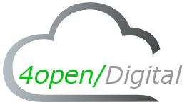 4open/Digital Logo